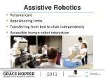 assistive robotics