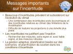 messages importants sur l incertitude