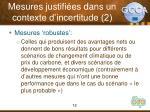 mesures justifi es dans un contexte d incertitude 2