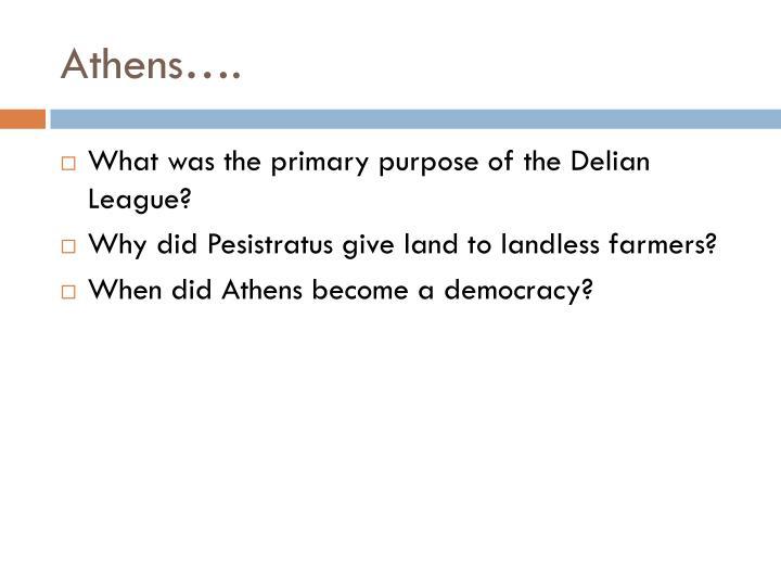 Athens….