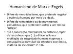 humanismo de marx e engels