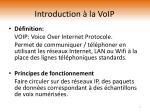 introduction la voip
