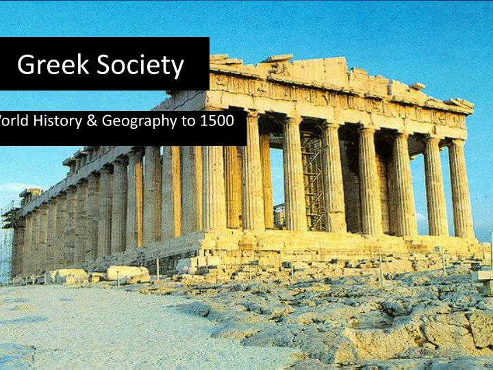 greek society n.