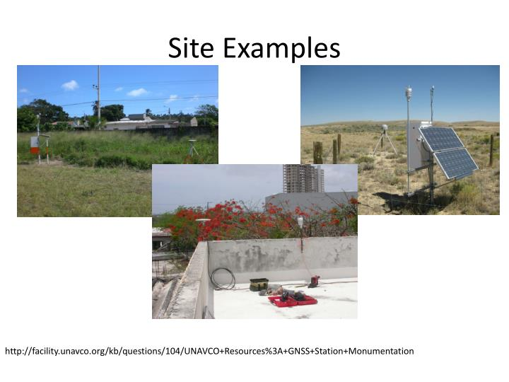 Site Examples