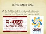 introduction 2022