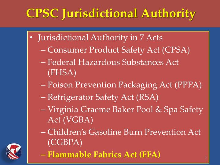 CPSC Jurisdictional