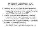 problem statement dc