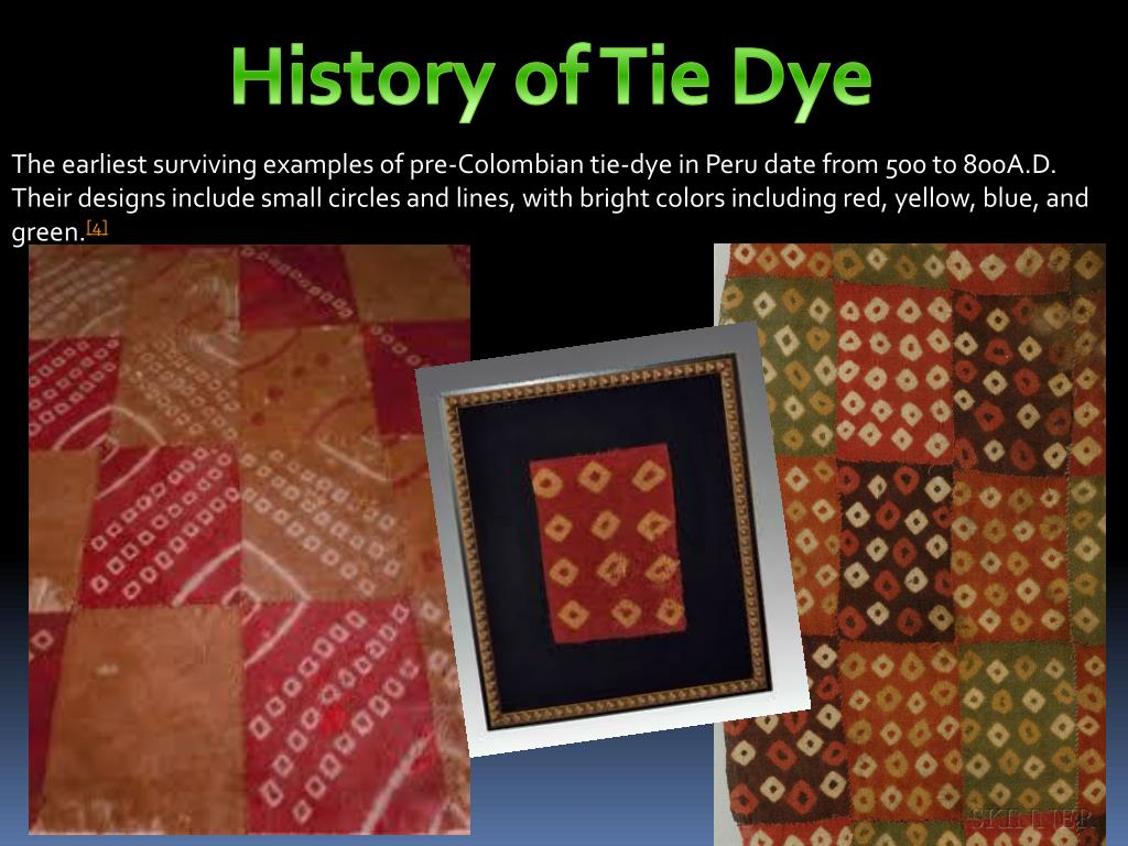 Ppt History Of Tie Dye Powerpoint Presentation Free Download Id 2197032