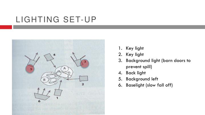 Lighting set-up
