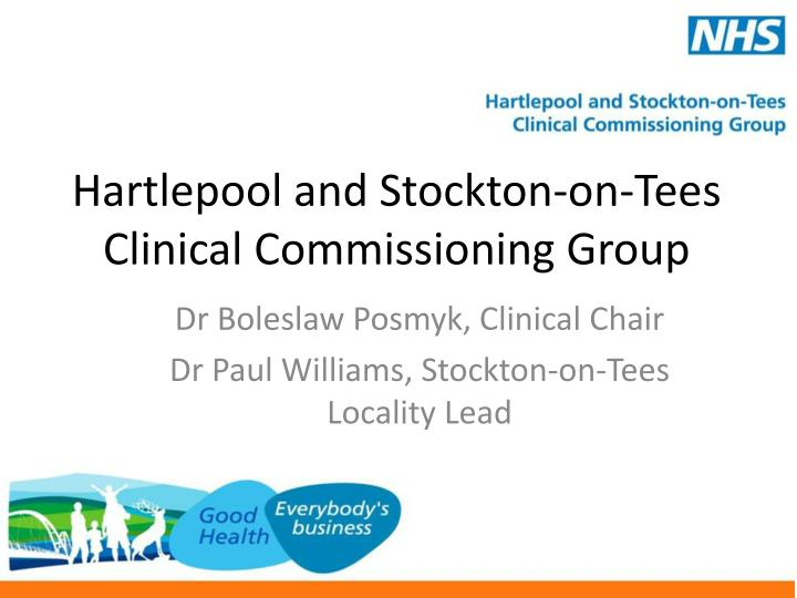 hartlepool and stockton on tees clinical commissioning group n.