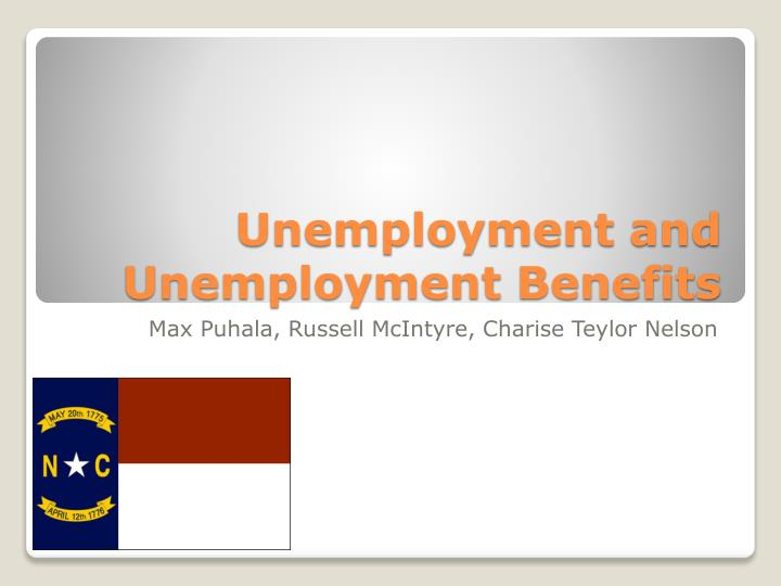 unemployment and unemployment benefits n.