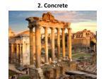 2 concrete
