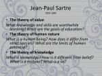 jean paul sartre 1950 1980