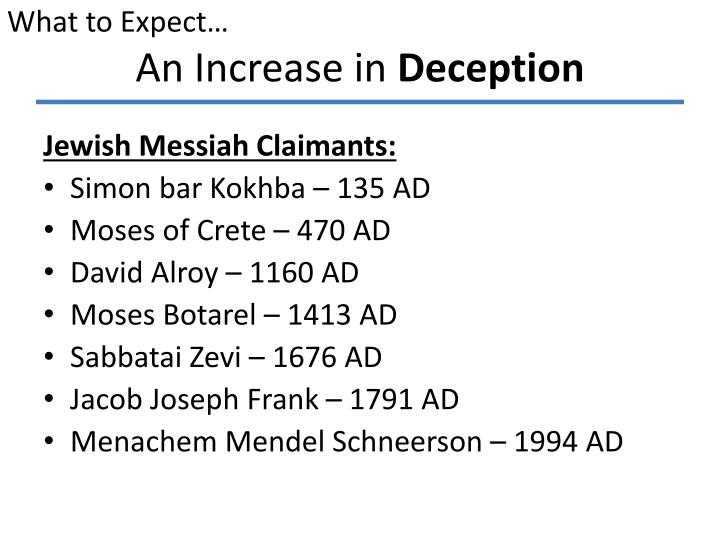 An increase in deception1