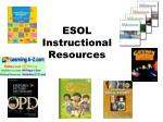 esol instructional resources