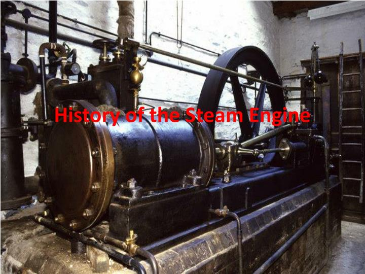 history of the steam engine n.