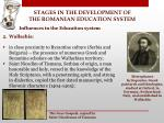 stages in the development of the romanian education system5