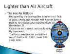 lighter than air aircraft