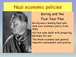 nazi economic policies1