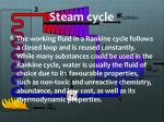 steam cycle3