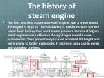 the history of steam engine1