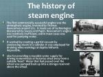 the history of steam engine2