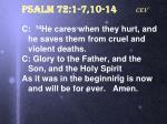 psalm 72 1 7 10 14 cev5