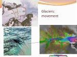 glaciers movement