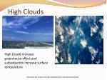 high clouds