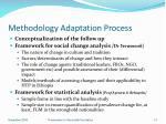 methodology adaptation process