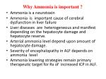 why ammonia is important