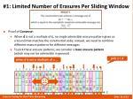 1 limited number of erasures per sliding window6