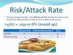 risk attack rate8