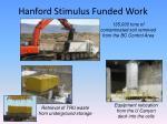 hanford stimulus funded work2