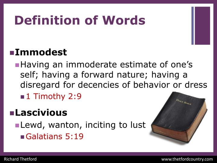 Definition of words