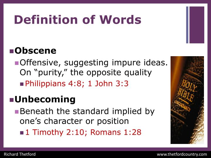 Definition of words1
