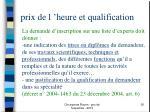 prix de l heure et qualification1