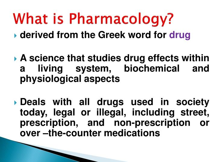 what is pharmacology n.