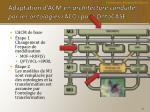 adaptation d acm en architecture conduite par les ontologies aco pour ontocase