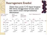rearragement enediol