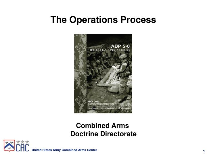 the operations process n.