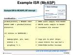 example isr mcasp