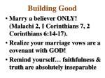building good3