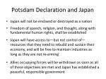 potsdam declaration and japan2