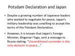potsdam declaration and japan4