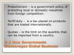4 2 how governments discourages global business