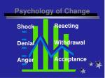psychology of change