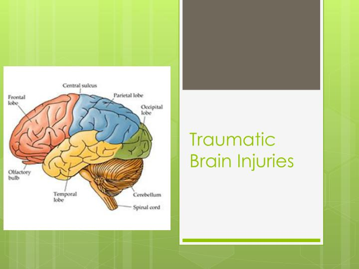 traumatic brain injuries n.