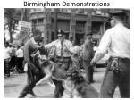 birmingham demonstrations