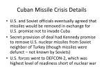 cuban missile crisis details